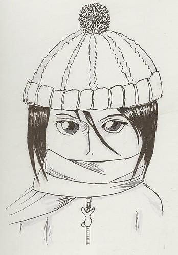 Rukia_inked