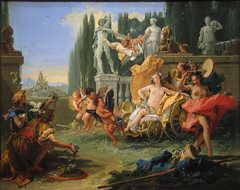 The Empire of Flora, circa 1743 (Maulleigh) Tags: art museum painting flora san francisco honor empire legion giovanni honour tiepolo the battista 1743