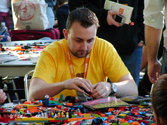 Playing with Lego (Martin Kliehm) Tags: austin lego sxsw interactive sxswi atmedia patrickgriffiths vivabit sxsw2008 sxswi08 sxswi2008 sxsw08 upcoming:event=350149