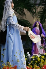 Veronica (Farl) Tags: flowers colors women catholic christ image faith mary religion jesus icon palm veronica holy cebu procession porcia cart handkerchief 2008 fait viernessanto semanasanta marymagdalene goodfriday holyweek mariamagdalena carrozas talamban cebusugbo cuaresma codoy