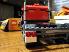 レゴクリエイター トラック 背面