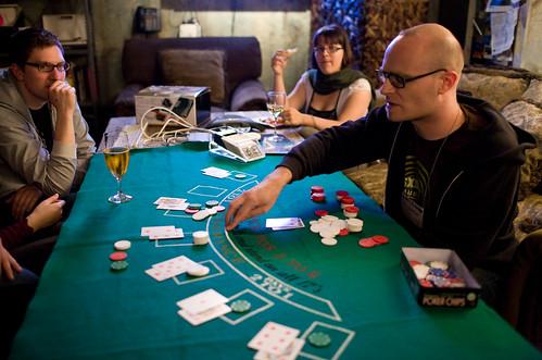 MC Frontalot Dealing Blackjack