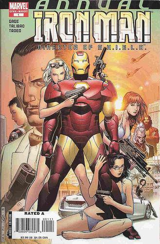 Iron Man Director de Shield 5