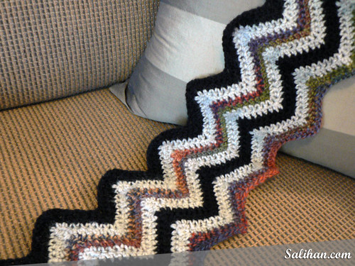 Easy Ripple Afghan (WIP)