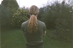 My lovely pony tail (dark_dave25) Tags: david dave weird tail longhair smith pony blonde
