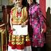 Lifetime Achievement Award winner Elena Poniatowska with presenter Maria Hinojosa
