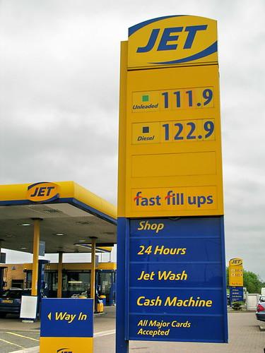 £5 per Gallon!