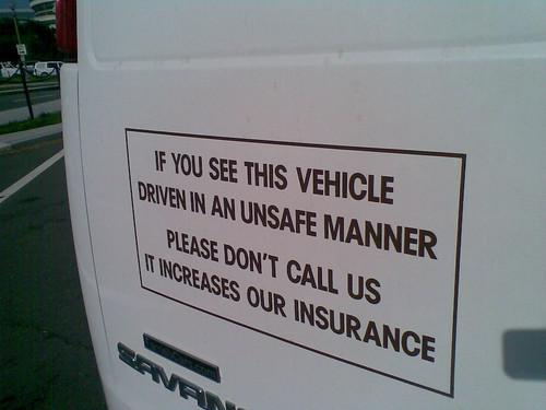 Funny Van Drivers Adrian Flux Insurance