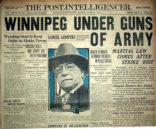 1919 The Winnipeg General Strike Jun 22 2009