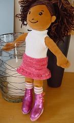 Ayanna's new skirt