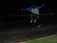 (barhooomo) Tags: from hell skaters tricks skateboard doha qatar aspire kickflip  villaggio