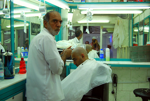 Barber in Makkah
