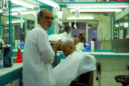 Barber in Makkah