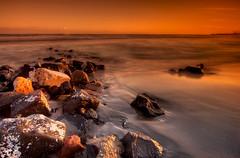 Erosion (Rickydavid) Tags: sea beach rocks mare nikond70 tokina1224 erosion ostia spiaggia hdr scogli cokin nd8 erosione ysplix thegoldendreams rickydavid riccardocuppini graddarktobacco wwwriccardocuppinicom httpwwwfacebookcomriccardocuppiniphotography
