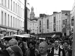 Notting Hill Markets (timinbrisneyland) Tags: england london market crowd nottinghill