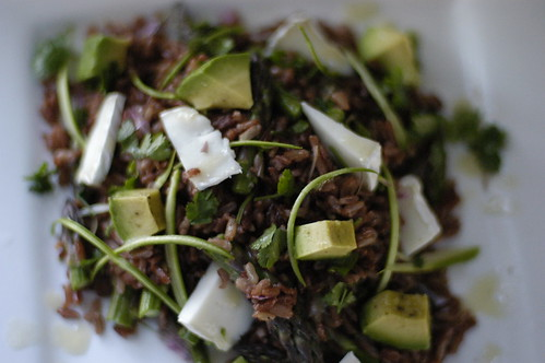 red rice salad