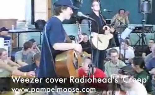 Exclusive Weezer Footage | Radiohead Creep Cover | Portland