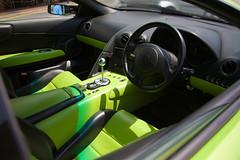 Lamborghini Murcielago (Stephen Hayes) Tags: verde speed spain fast lamborghini supercar 62 puertobanus lambo fastcar lamborghinimurcielago lamborghiniinterior verdeithaca greenlamborghini murcielagointerior lamborghinimurcielago62 greenlamborghinimurcielago greenmurcielago aer3