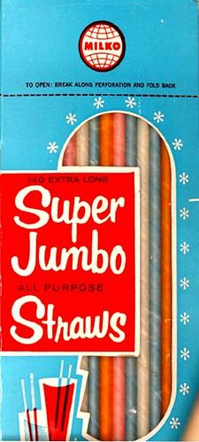 Milko Super Jumbo Straws