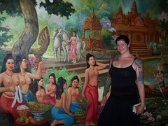 Cambodian Cultural Village (BaronessEast) Tags: children ancient ruins cambodia buddha kingdom temples siem reap angkor wat