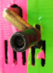 crank it real good (Darwin Bell) Tags: pink green handle crank 25faves colorphotoaward aplusphoto quotidiae