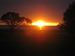 Sunset at Kingston SE