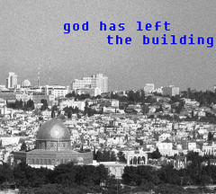 God has left (Liora Yukla - Portfolio) Tags: rock design hit student media jerusalem religion barbara dome boaz visual th  communications tal liora kruger photographics             yukla yuklea