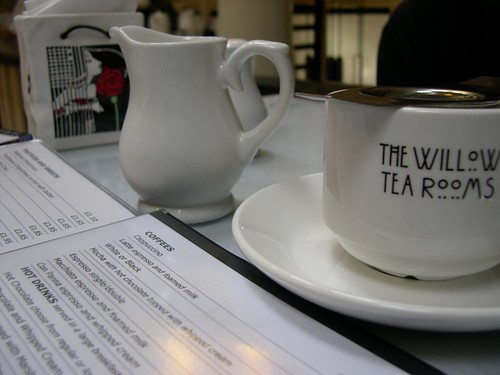 The Willow Tea Rooms, Glasgow, Scotland, UK