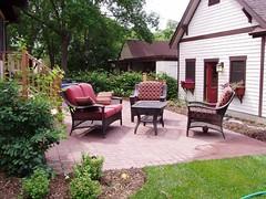 Plush patio