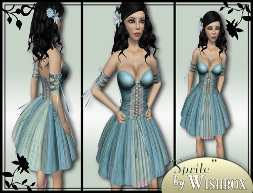 Sprite in Sapphire by Wishbox!