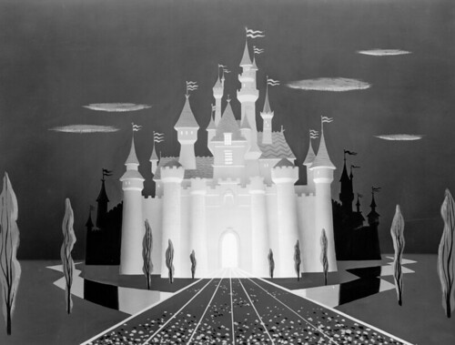 disneyland logo castle. Disneyland Castle TV Art