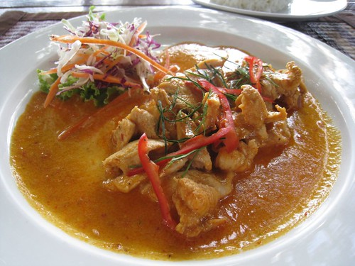 Penang Curry with Chicken