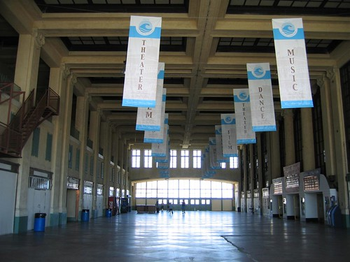 Inside the Convention Hall