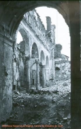 Iglesia de la Magdalena en la Guerra Civil. Toledo.