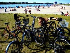 Bike parking cluster