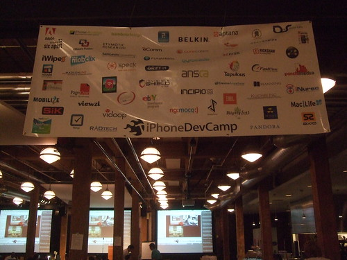 iPhone Dev Camp sponsors