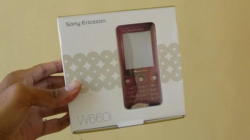 SonyEricsson W660i