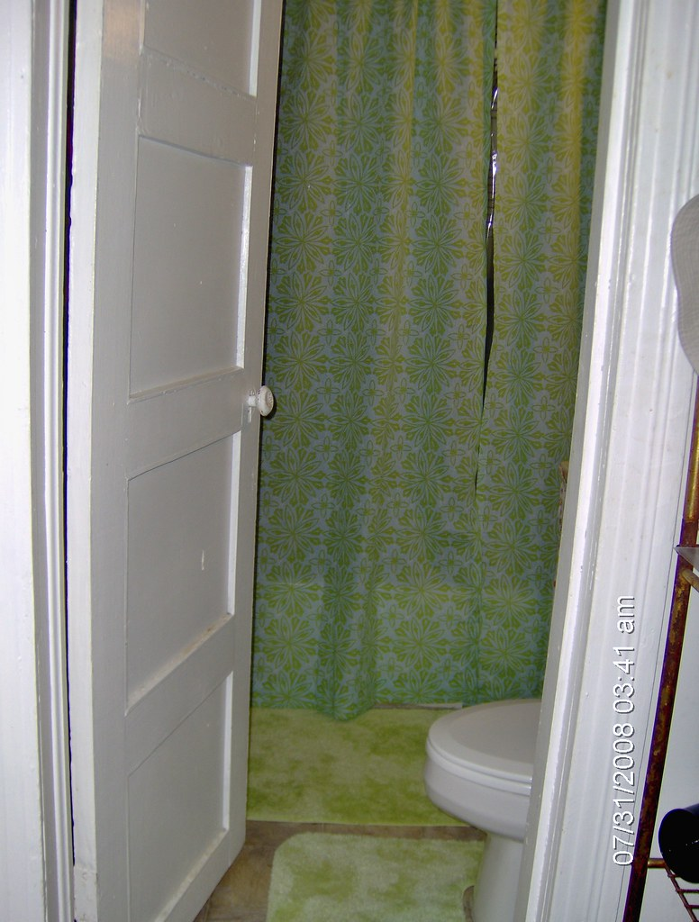 Bathroom Rugs and Shower Curtain