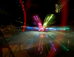 Explosion (binaryCoco) Tags: light lightpainting night licht nacht hannover nordlb