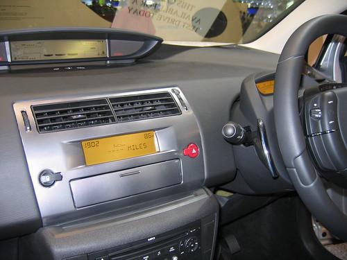 Citroen C6 Interior. Citroen C4 Interior · Citroen C6 display