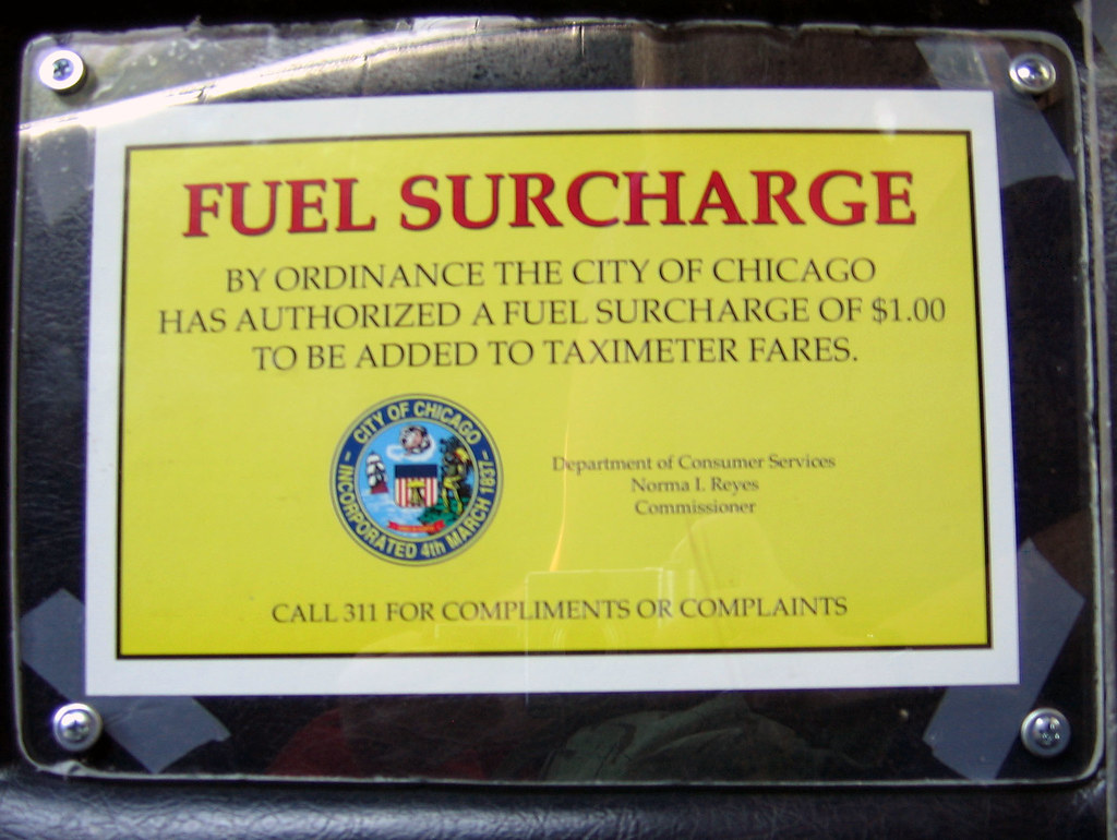 The Worlds Best Photos Of Surcharge And Taxi Flickr Hive Mind - What is fuel surcharge