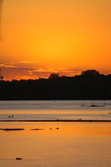 Twilight over the Illinois River (ap0013) Tags: sunset usa america river illinois twilight nikon midwest ottawa nikond100 d100