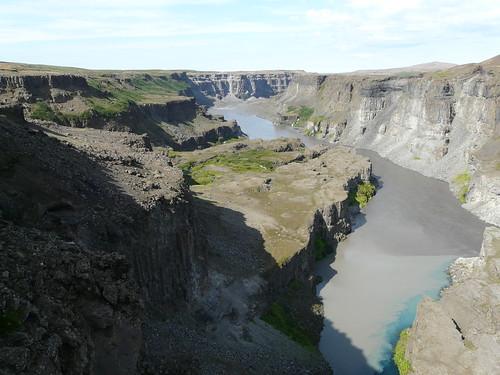 Hafragilsfoss Canyon