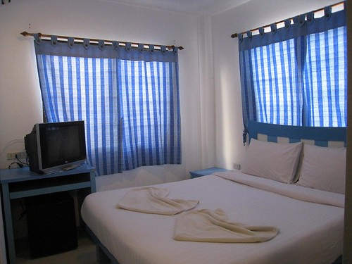 My air-con room on Phi Phi Don - so comfy