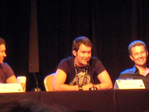 Gareth David Lloyd & James Marsters at the Torchwood Panel