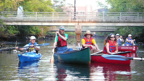 Providence River paddle