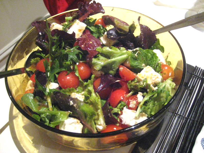 Chrystal's salad
