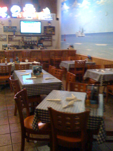 Interior view of C.R. Surf and Turf