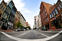 Main Street, downtown Louisville, Kentucky (joschmoblo) Tags: street copyright lens nikon mainstreet downtown kentucky ky district christina main historic fisheye louisville d300 105mm joschmoblo christinagnadinger gnadinger 3ds4685