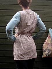 vintage style war apron